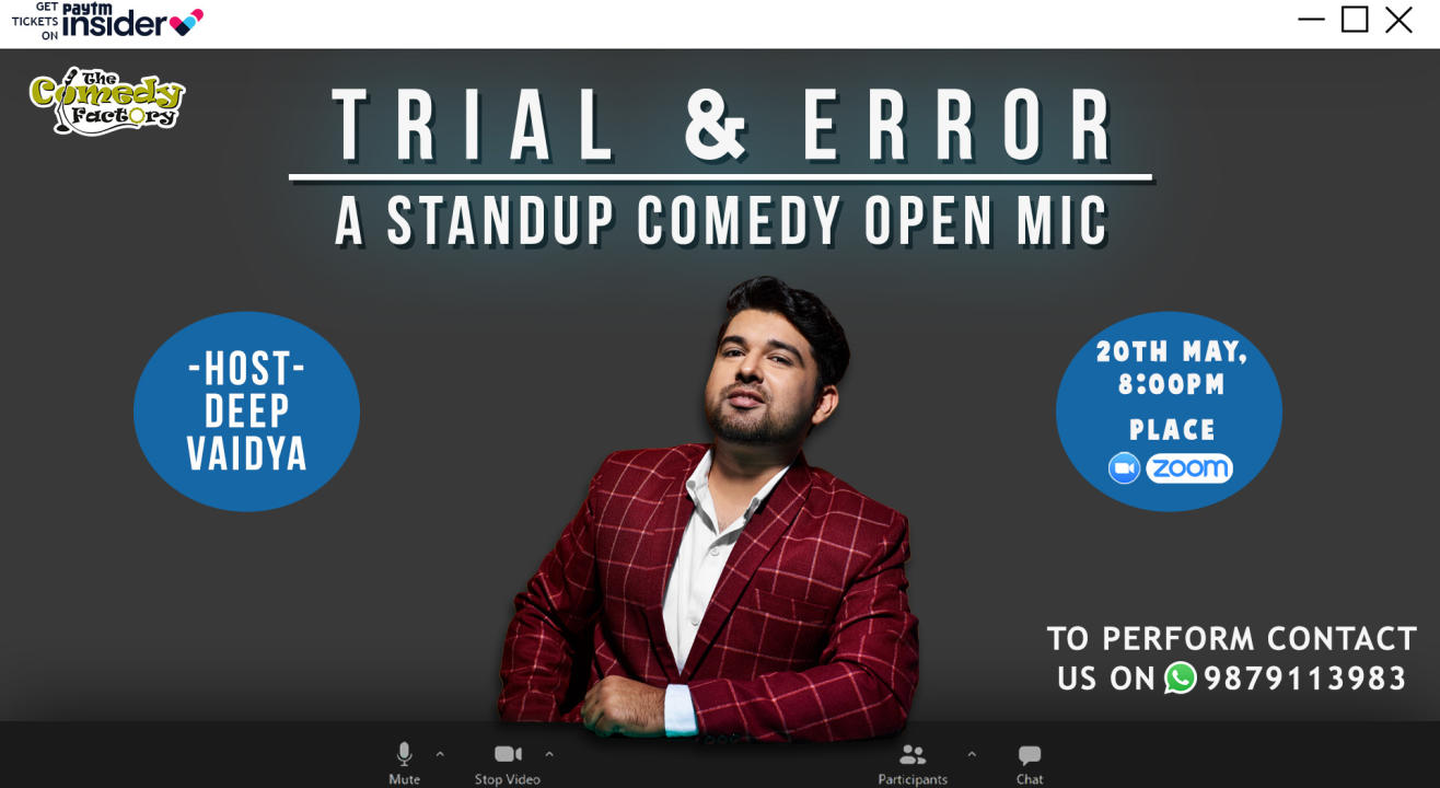 Trial & Error - A Stand Up Comedy Open Mic