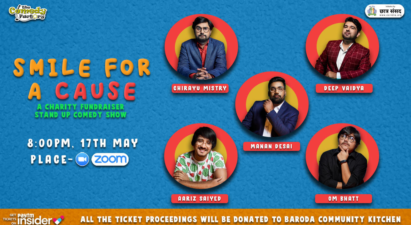 SMILE FOR A CAUSE - A Charity Fundraiser Stand-up Comedy Show