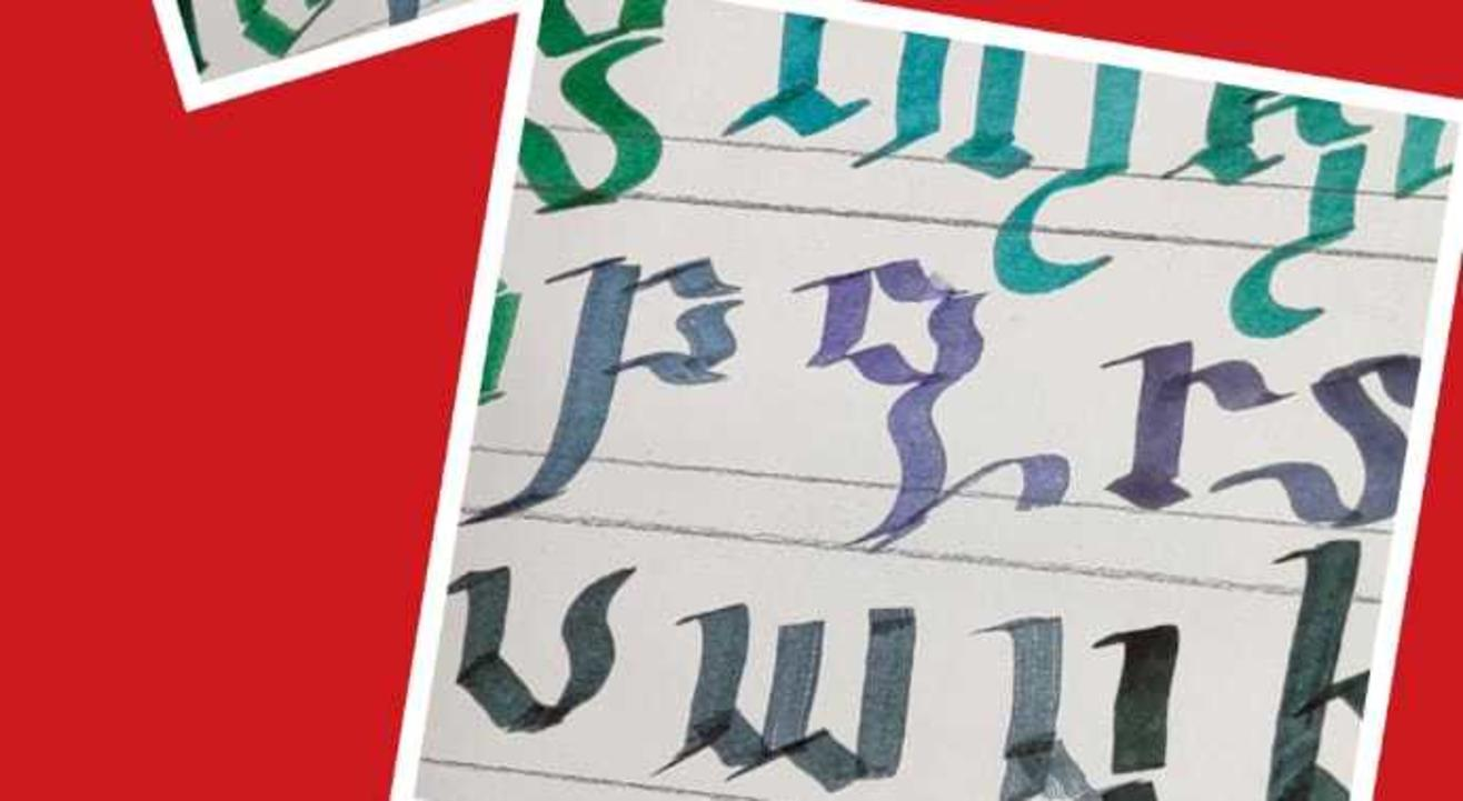 Learn Calligraphy with Flat Brush