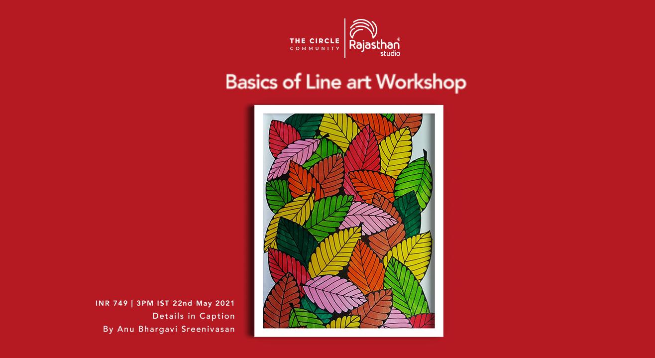 Basics of Line Art Workshop by The Circle Community