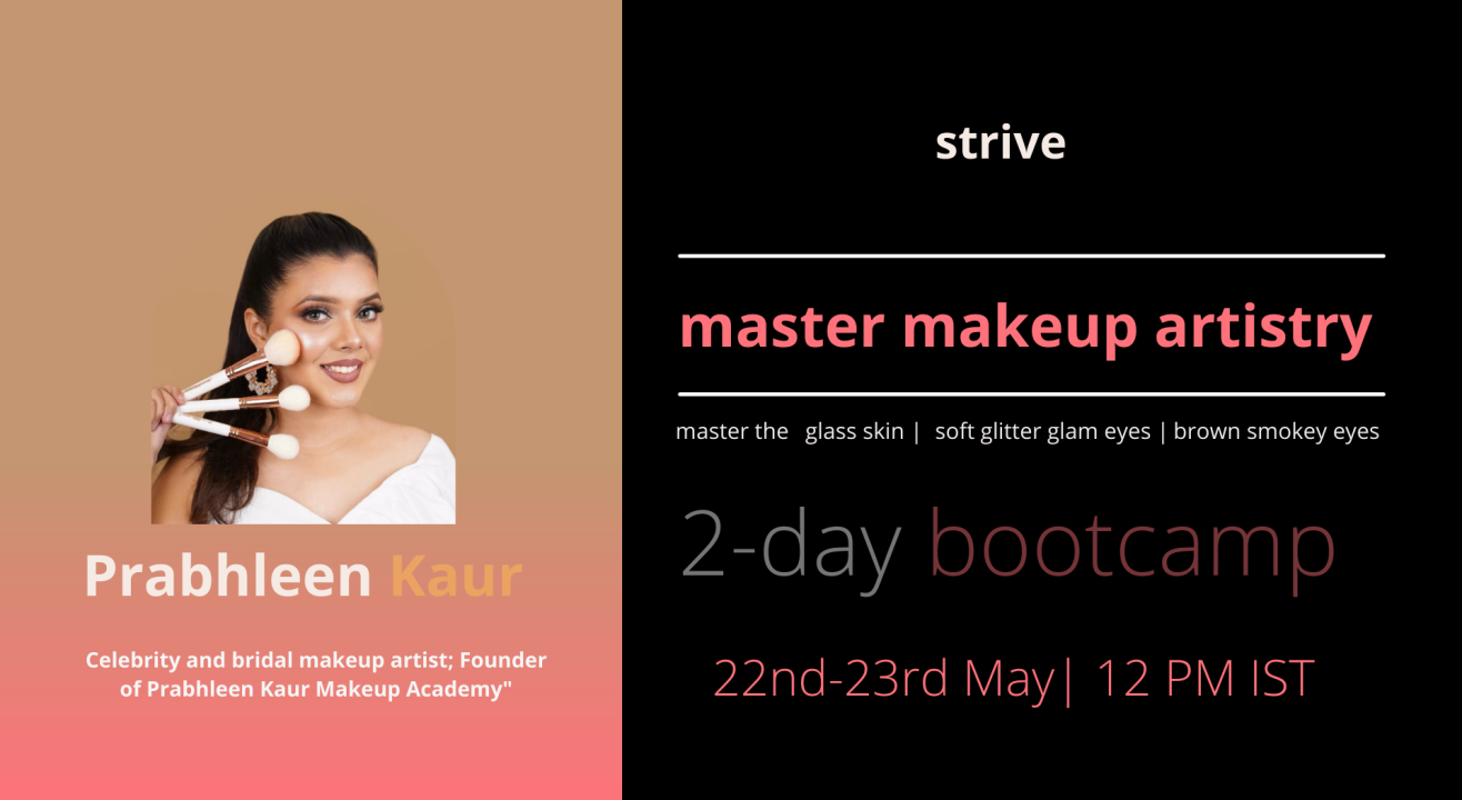 Master Make-Up Artistry with Celebrity Artist Prabhleen Kaur