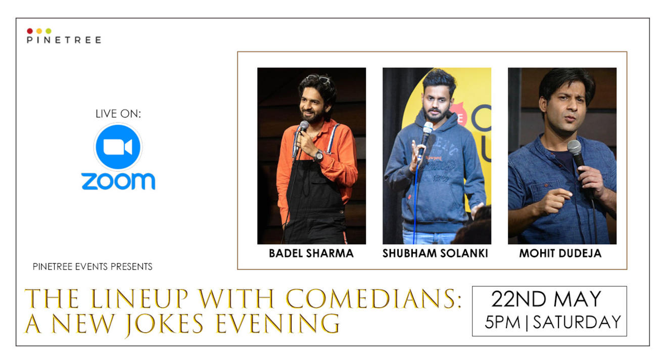 THE LINE-UP WITH COMEDIANS