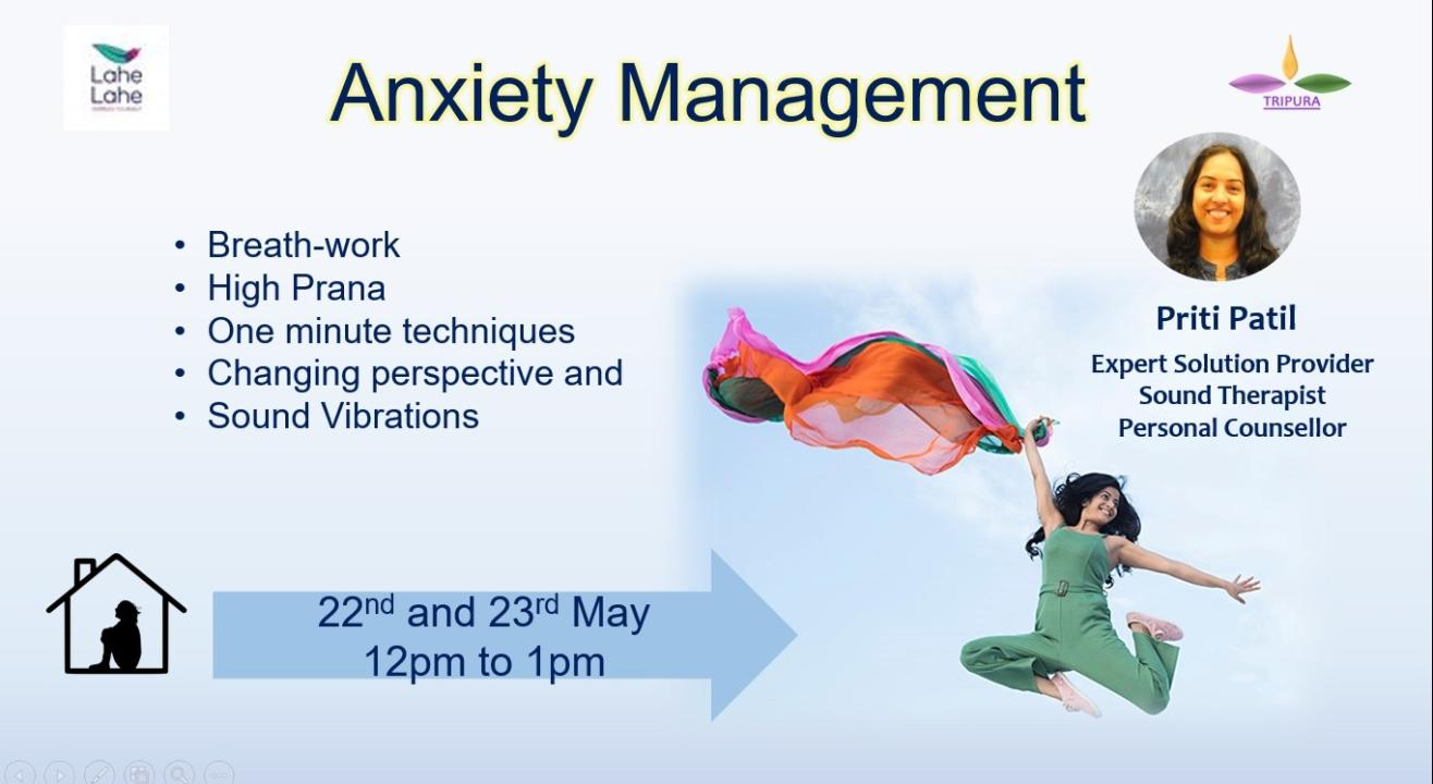 Anxiety Management(Online)