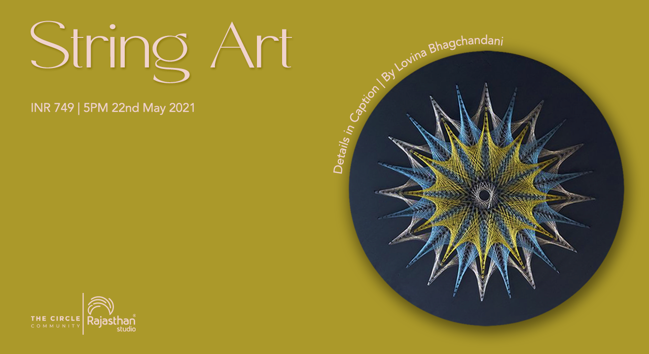 String Art For Beginners Workshop by The Circle Community