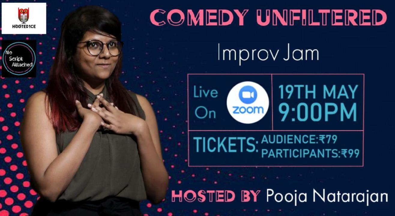Comedy Unfiltered Improv Jam Hosted by Pooja Natarajan