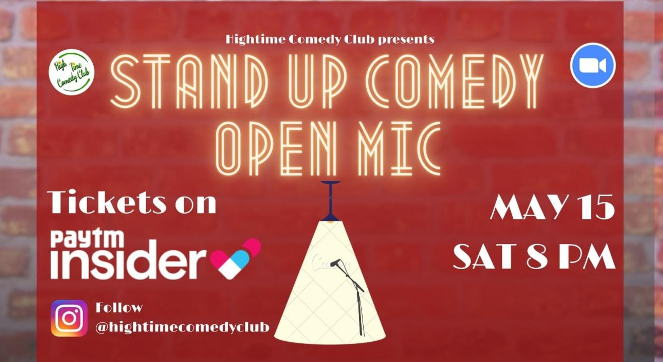 High Time Comedy Club Open Mic