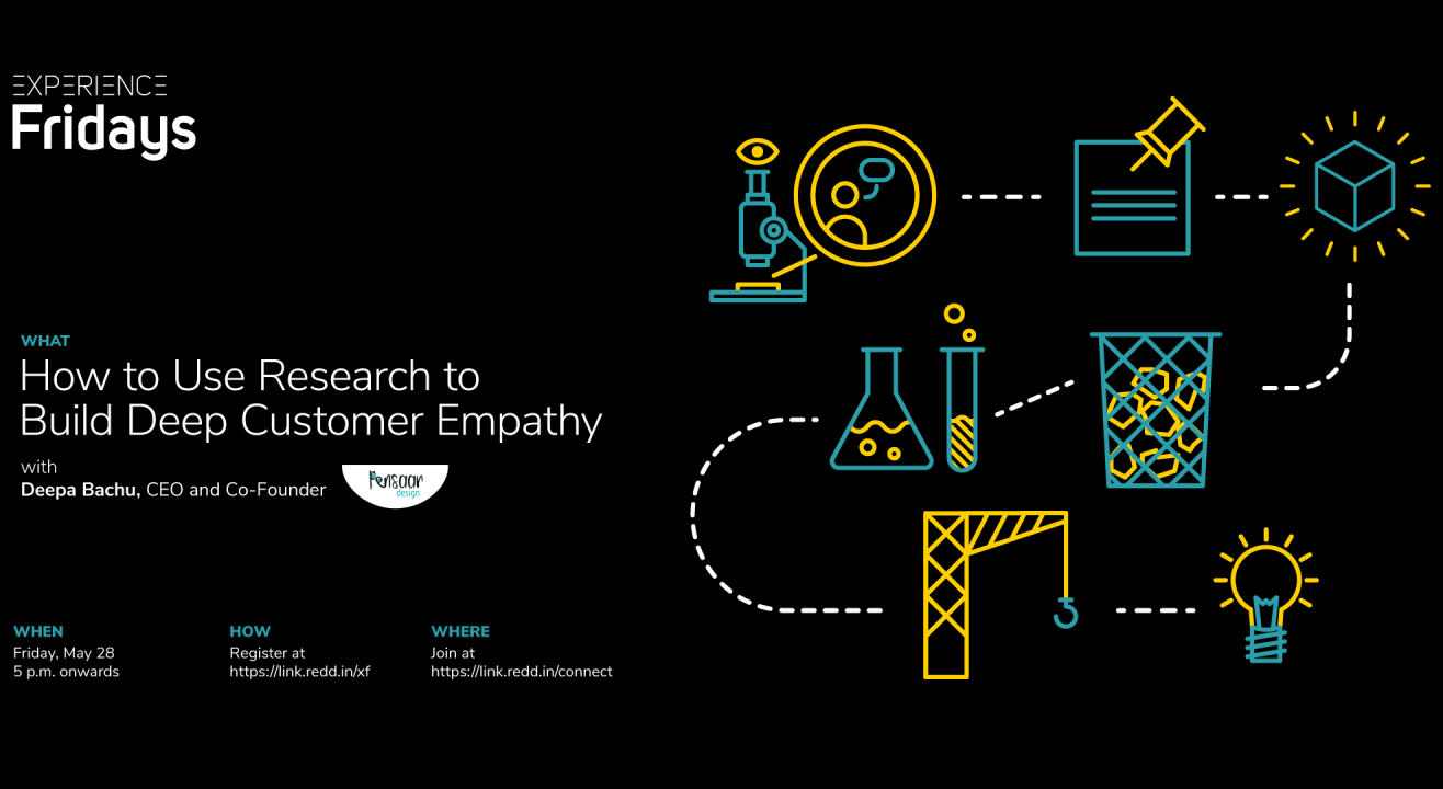 Experience Fridays: How to Use Research to Build Deep Customer Empathy with Deepa Bachu, CEO and Co-Founder, Pensaar Design