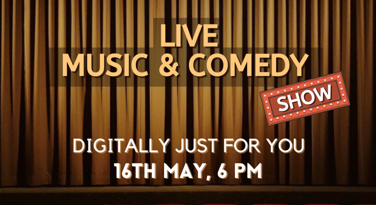 LIVE MUSIC & COMEDY EVENT BY VUME
