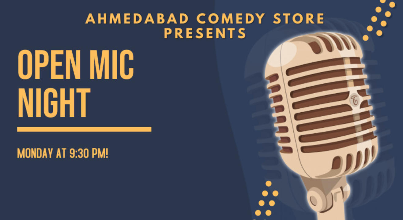 Open Mic Night - Ahmedabad Comedy Store