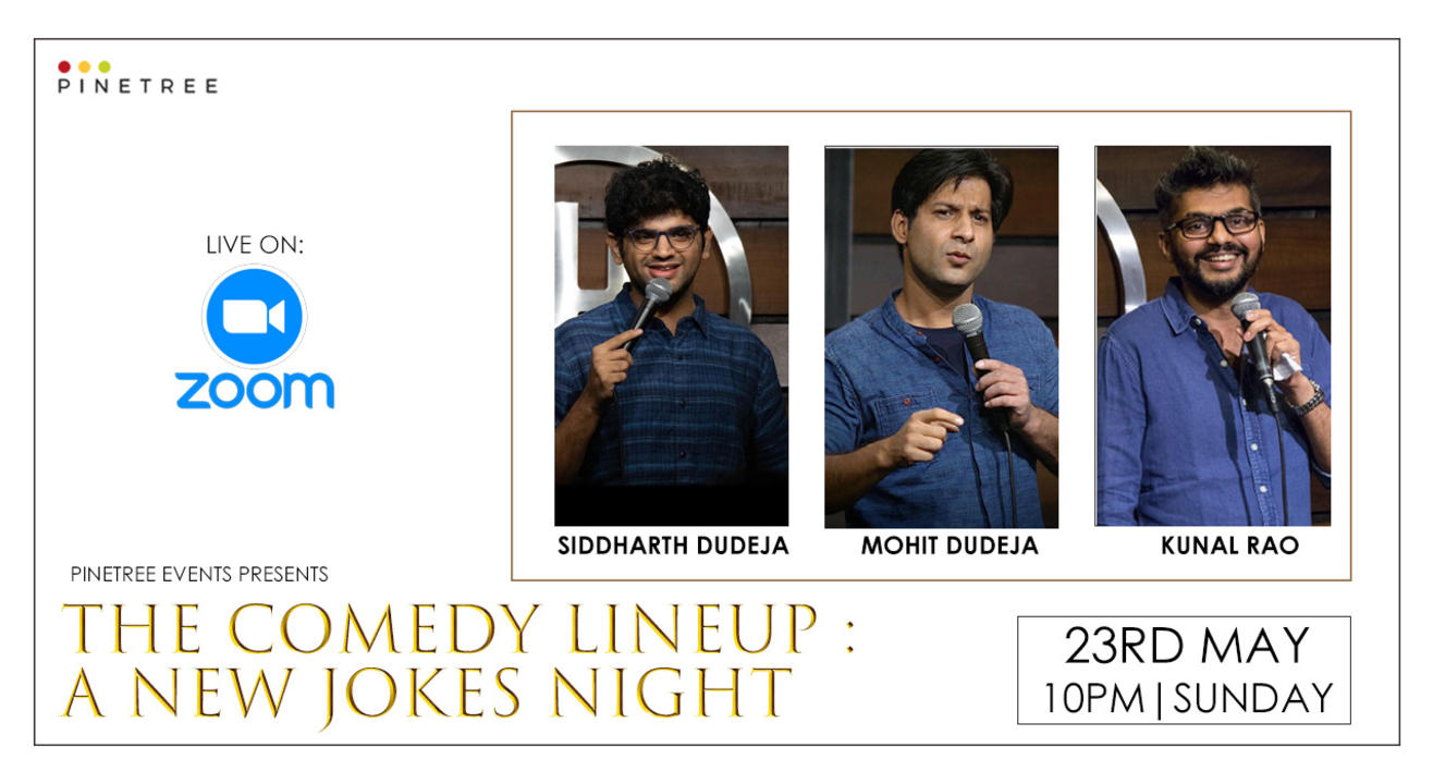 THE COMEDY LINE-UP: A NEW JOKES NIGHT