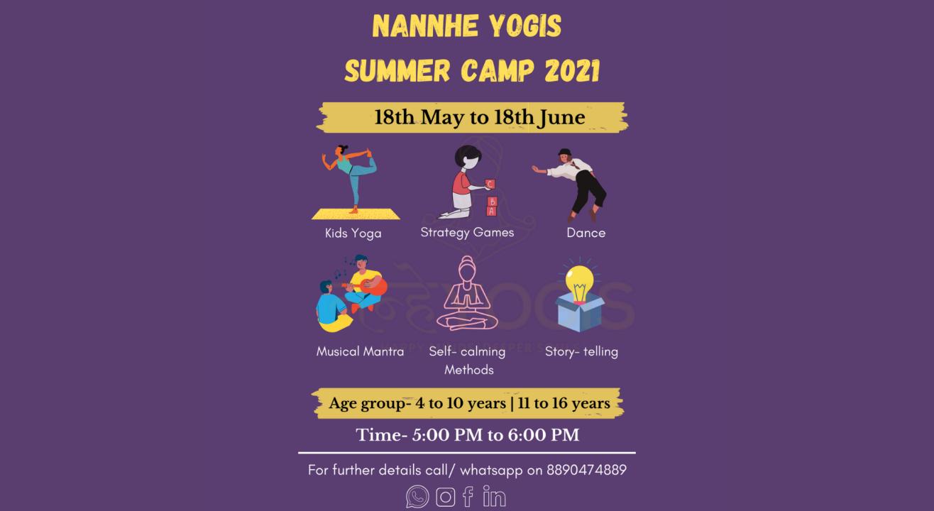 Nannhe Yogis Summer Camp 2021