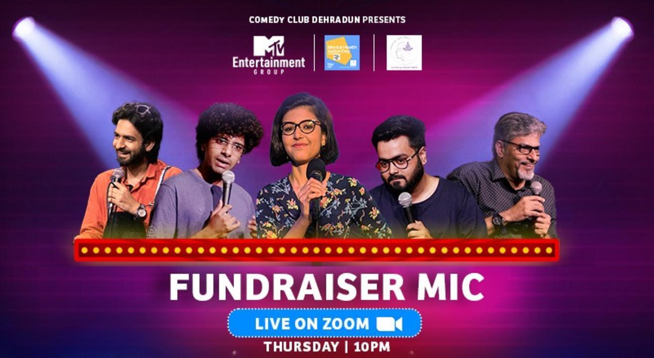 Comedy club Dehradun- Fundraiser Mic