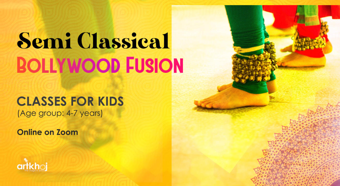 Semi Classical Bollywood Fusion Classes - For Kids