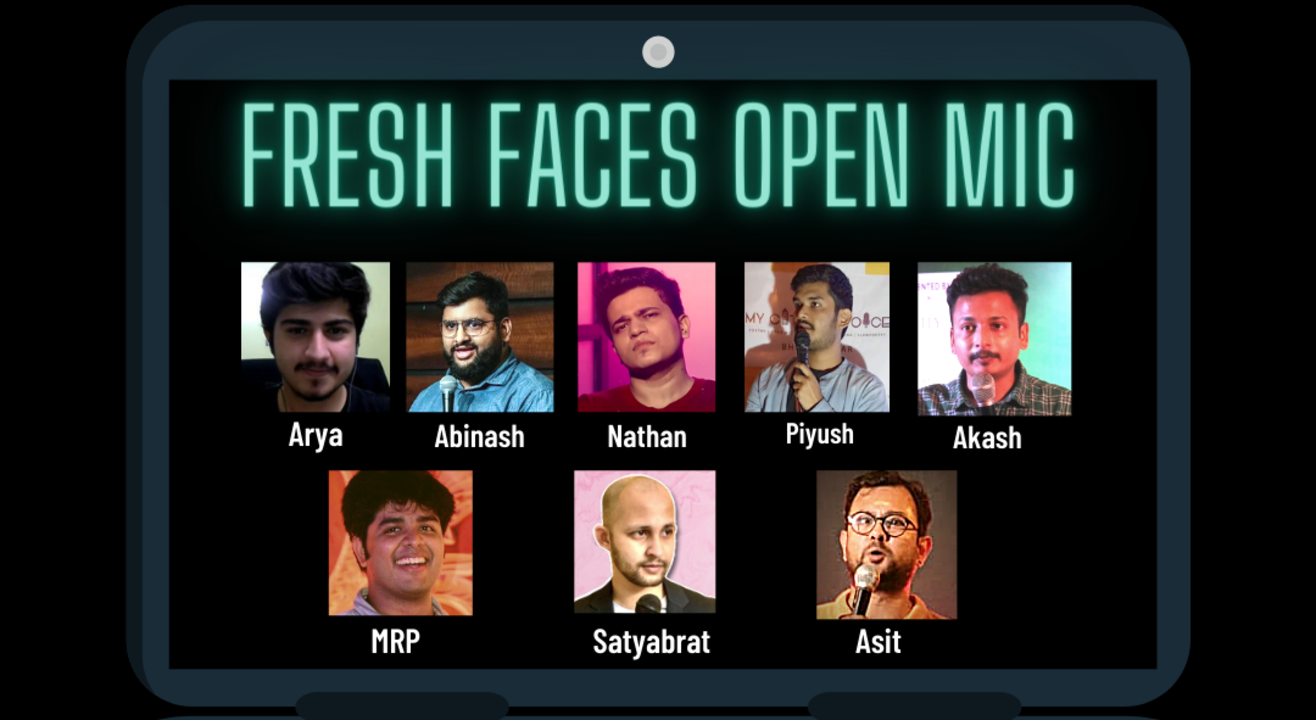 Fresh Faces - Stand-up Comedy Open Mic 5.0