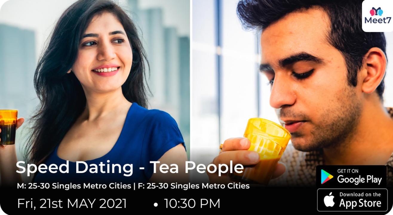 Speed Dating - Tea People
