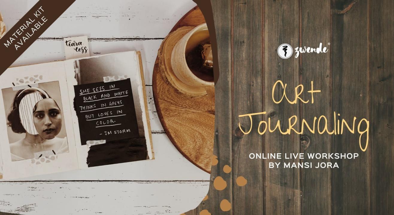 Art Journaling [Online Live Workshop - Material Kit Available]