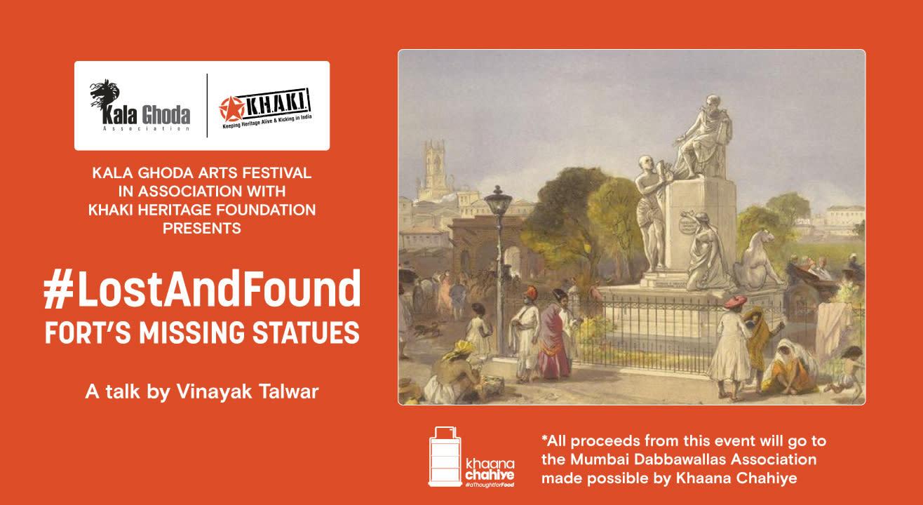 #LostAndFound - Fort's Missing Statues, A talk by Vinayak Talwar