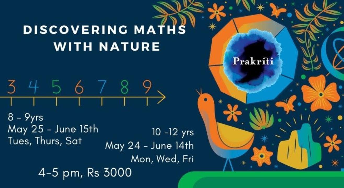 Discovering Maths with Nature @ Prakriti Summer Jamboree 2021