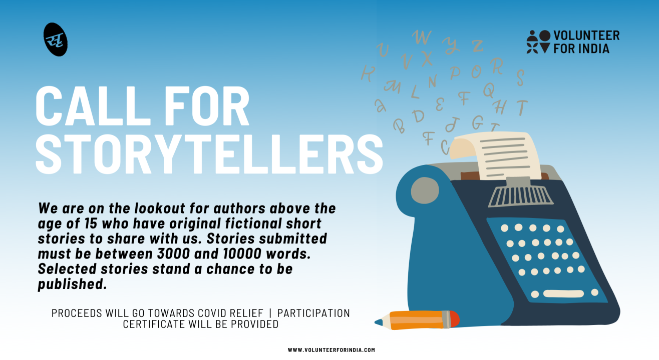 Call for Storytellers - A Covid fundraising competition
