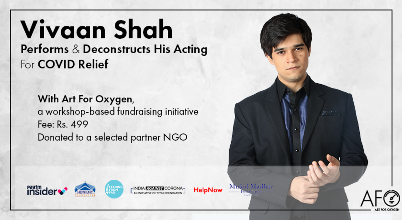Vivaan Shah Performs & Deconstructs His Acting For COVID Relief