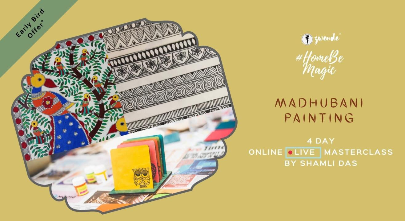 Madhubani Painting [Online Live Masterclass]