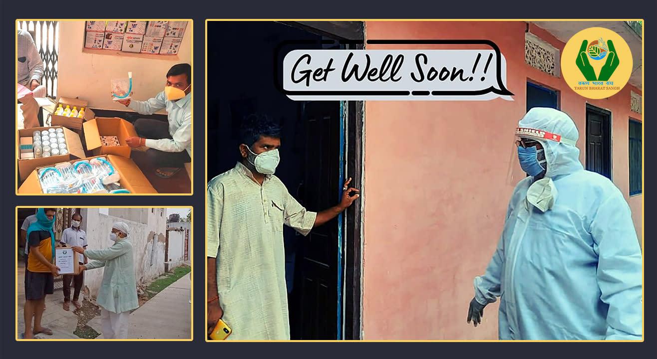 Tarun Bharat Sangh| Home Care-Kits | Covid - 19 Relief