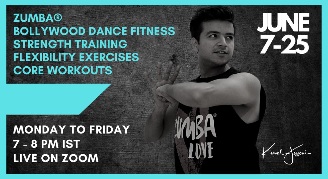 Monsoon Dance Fitness Dhamaka with Kunal Jessani