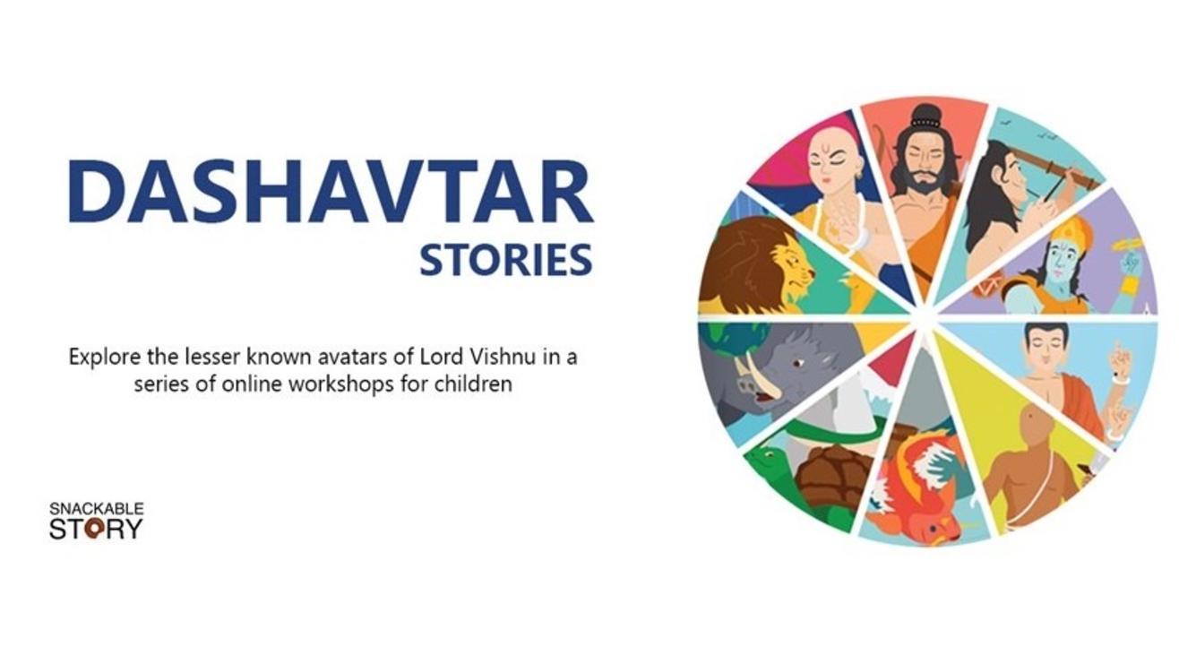 Dashavatar Stories for kids