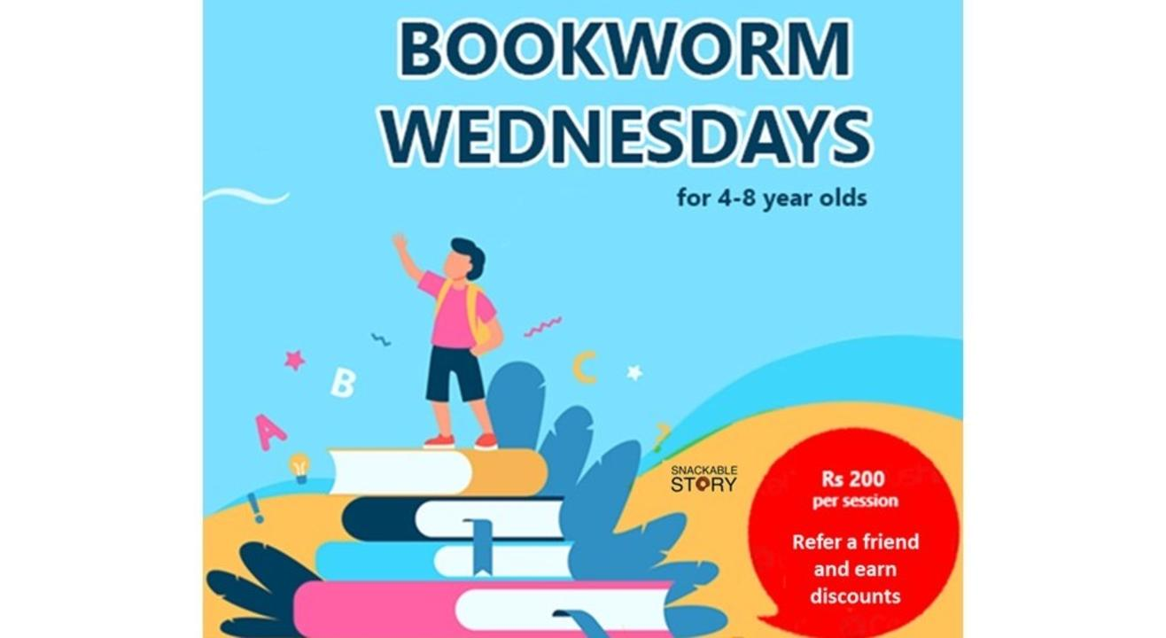 Bookworm Wednesdays - story sessions for kids