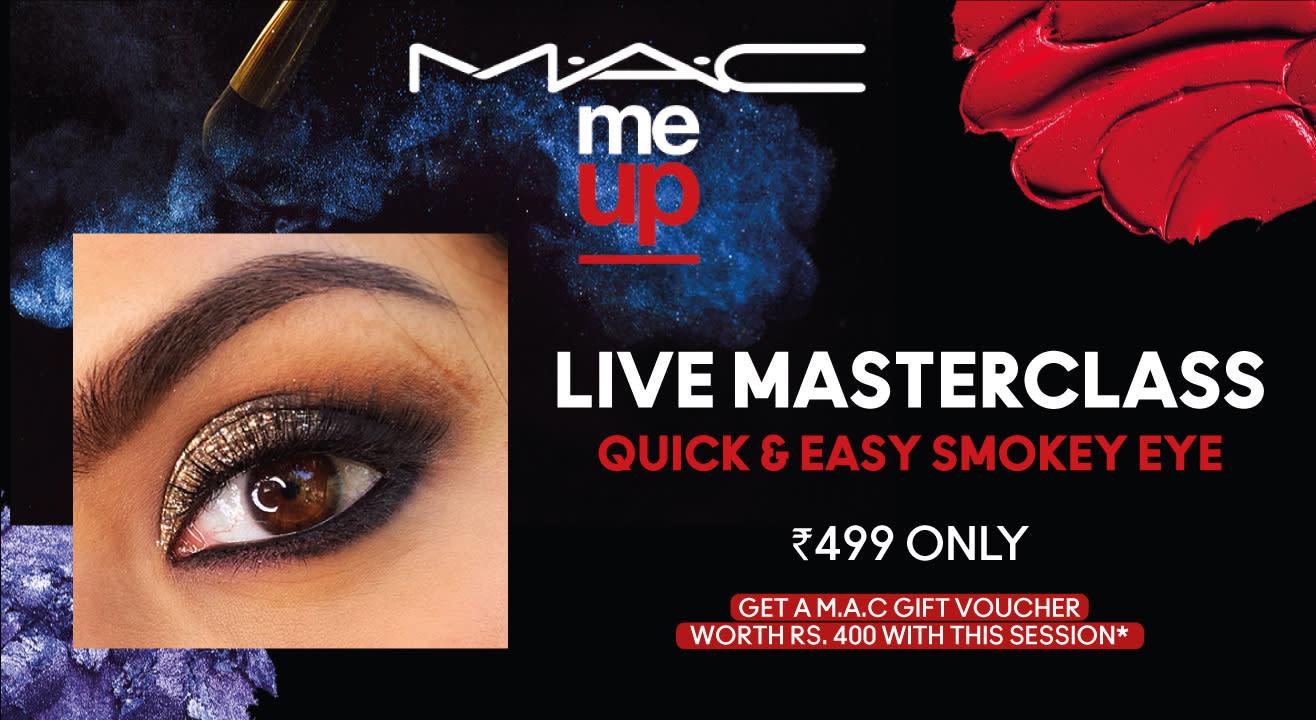 Quick & Easy Smokey Eye   M.A.C Cosmetics