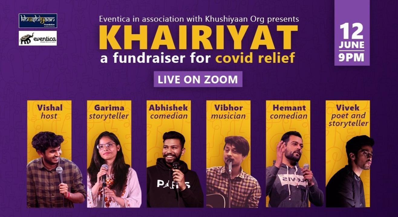 KHAIRIYAT - a fundraiser for covid relief