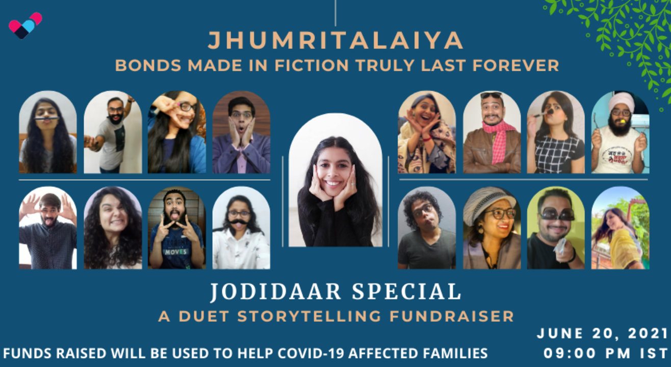 Jhumritalaiya - Jodidaar special   A duet storytelling fundraiser