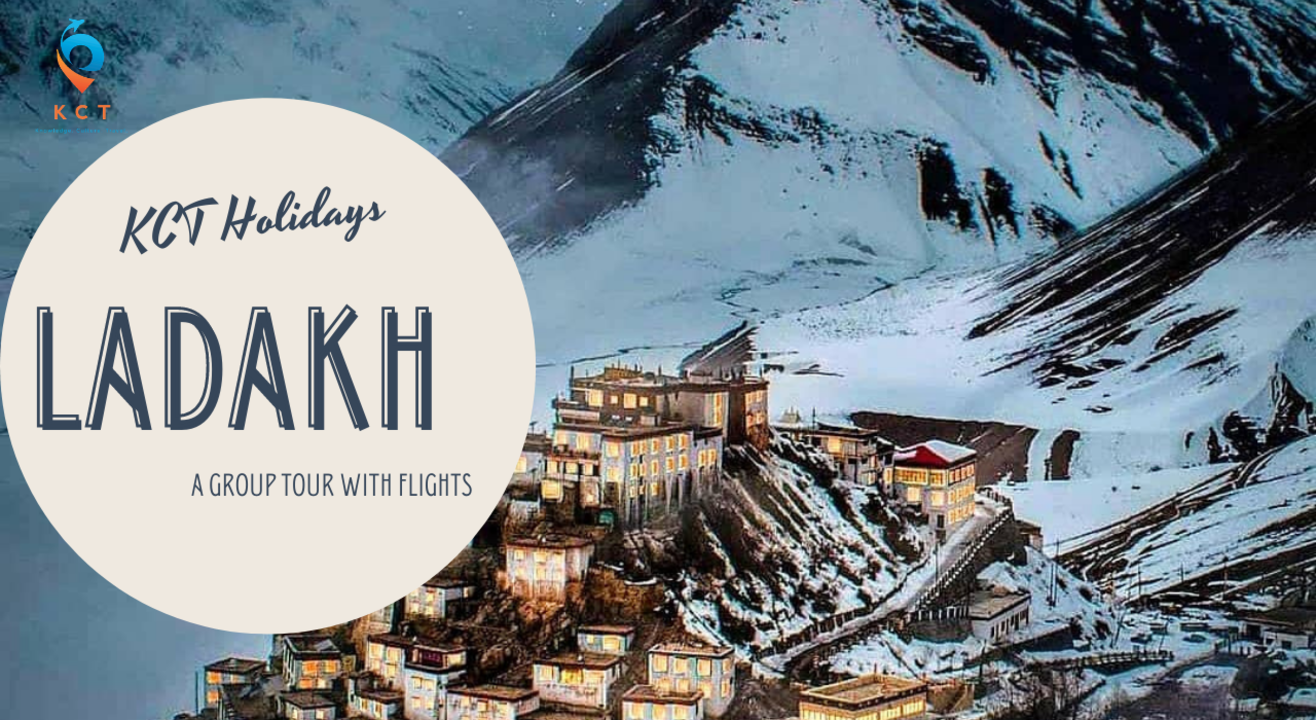 Leh Ladakh Group Tour with Flights