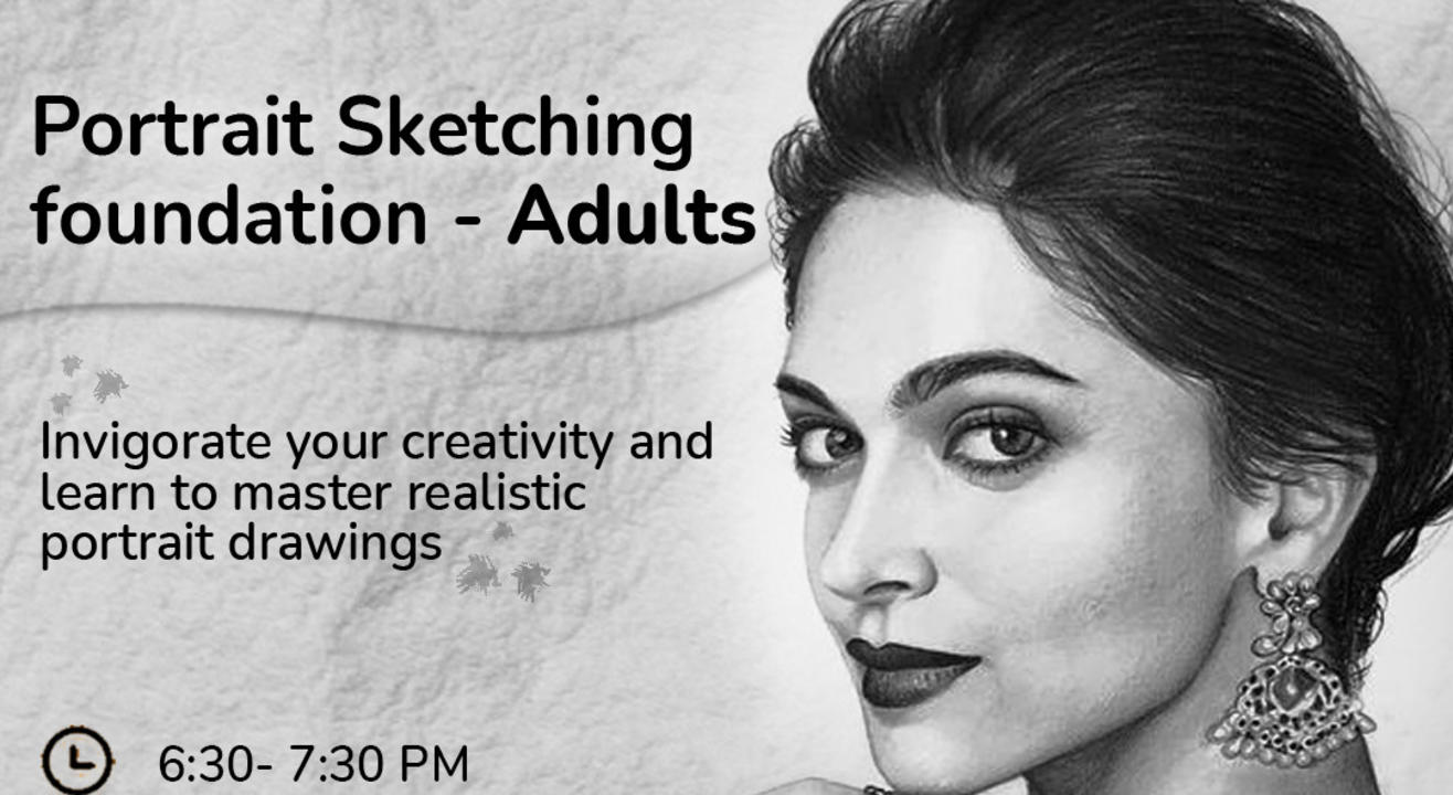 Portrait Sketching - Adults