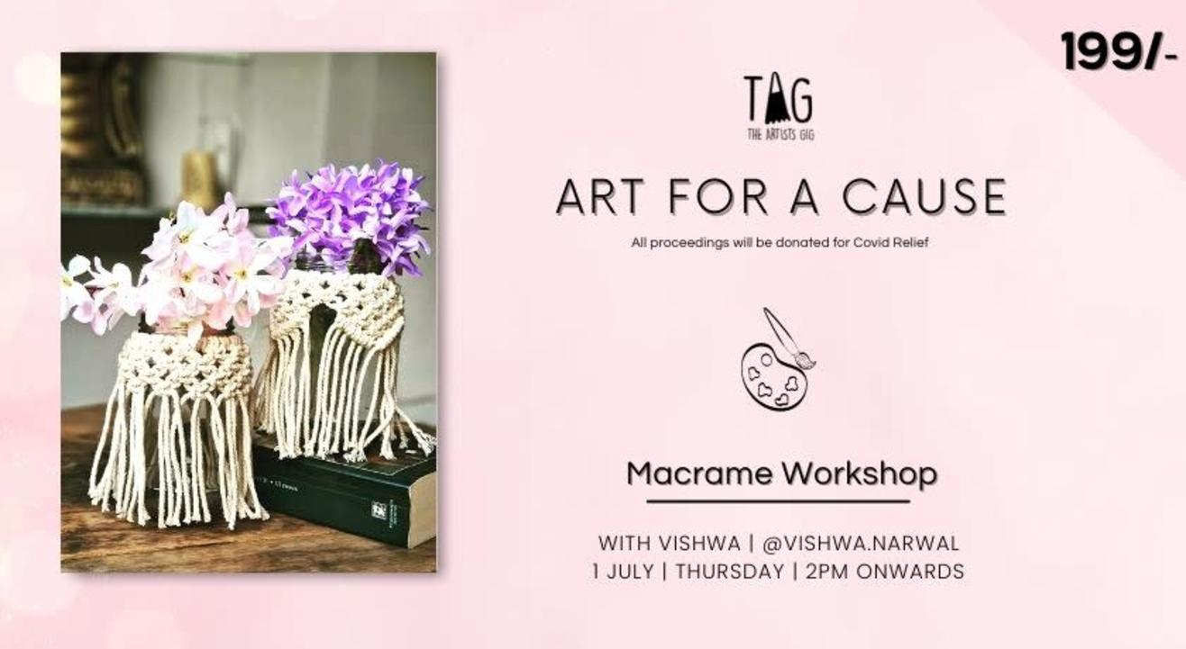 Macrame Workshop with TAG The Artists Gig