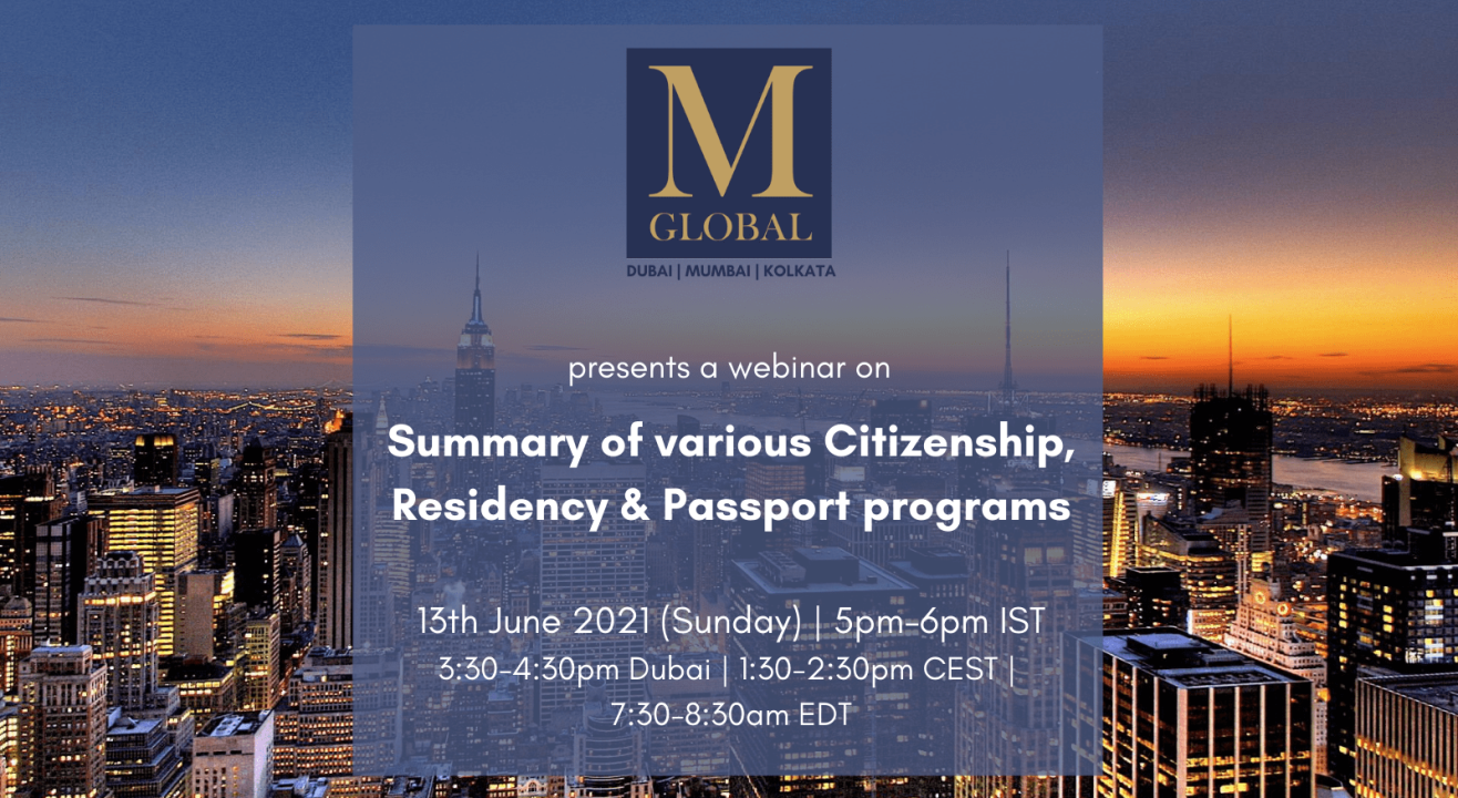SUMMARY OF VARIOUS CITIZENSHIP, RESIDENCY & SECOND PASSPORT PROGRAMS