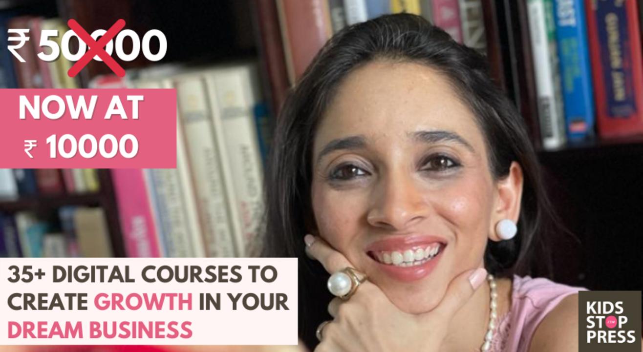 Digital Strategy & Entrepreneurship Course from Kidsstoppress