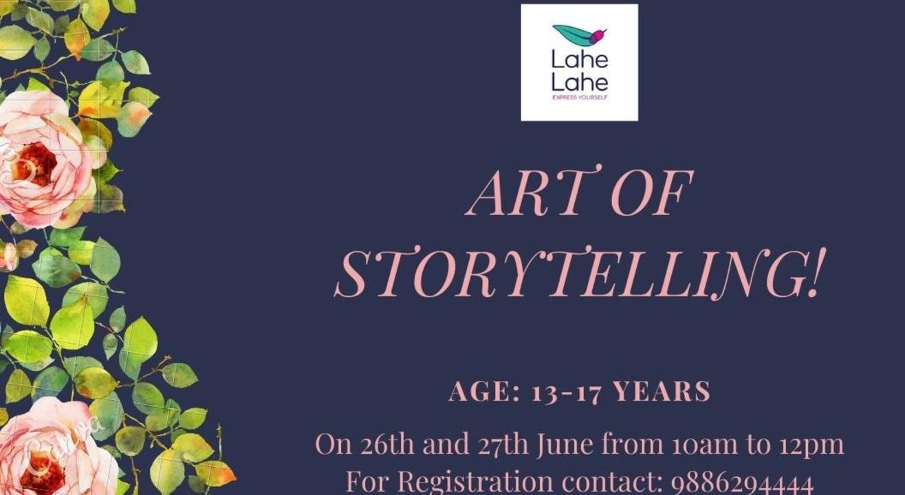 Online Storytelling for Teens
