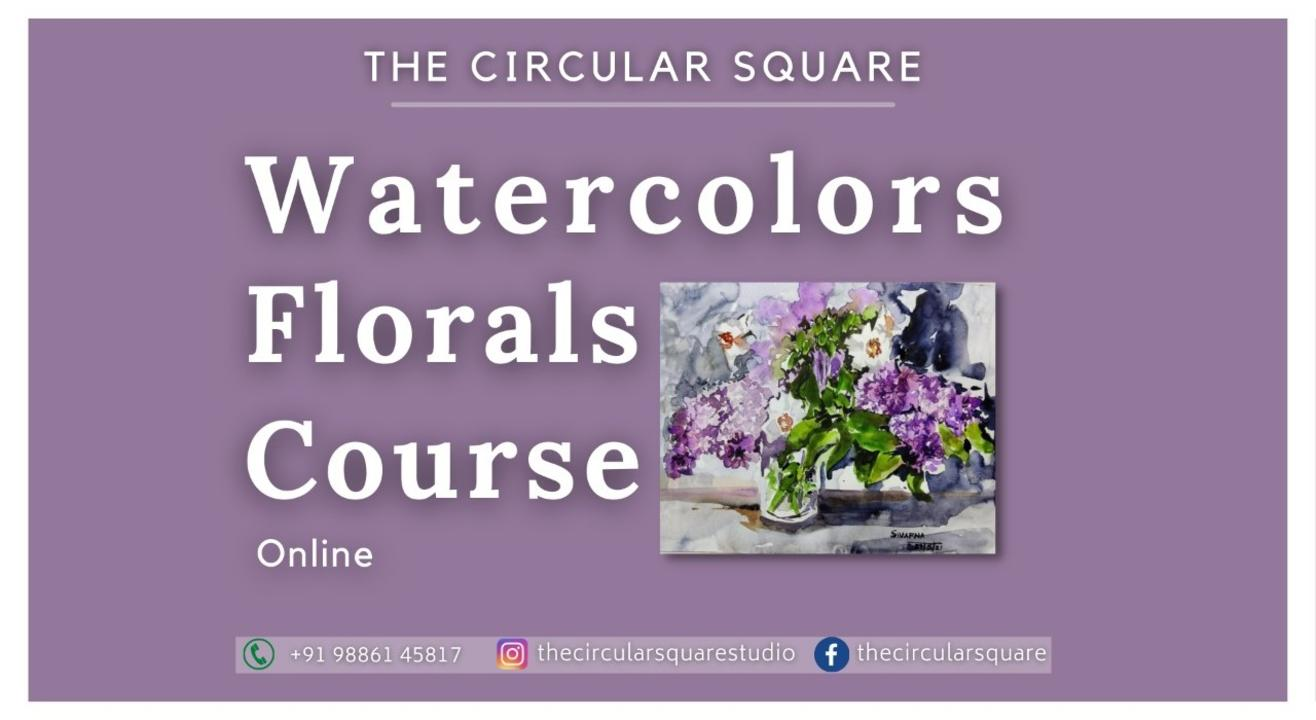 Watercolor Florals Course
