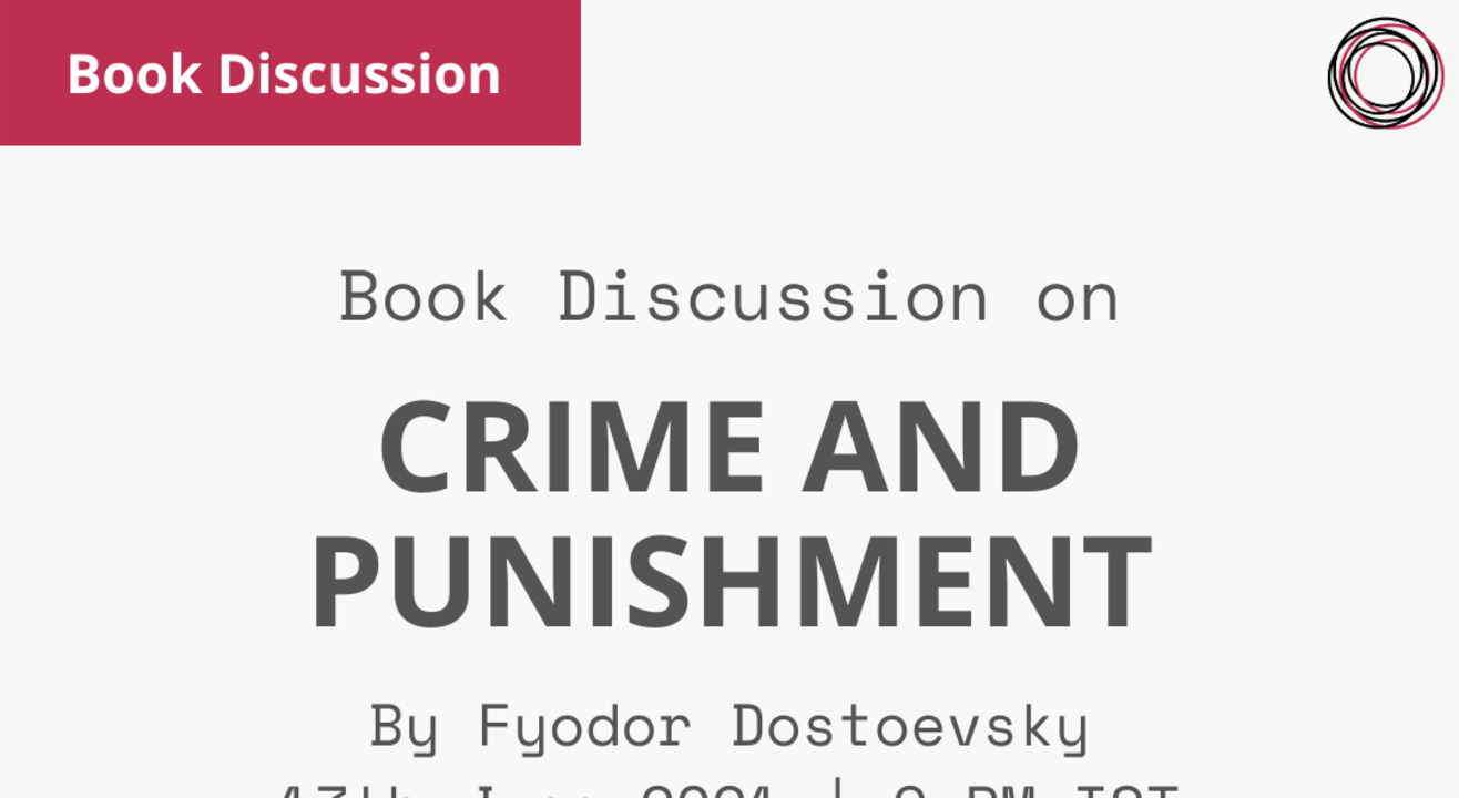 Book Discussion: Crime and Punishment by Fyodor Dostoevsky