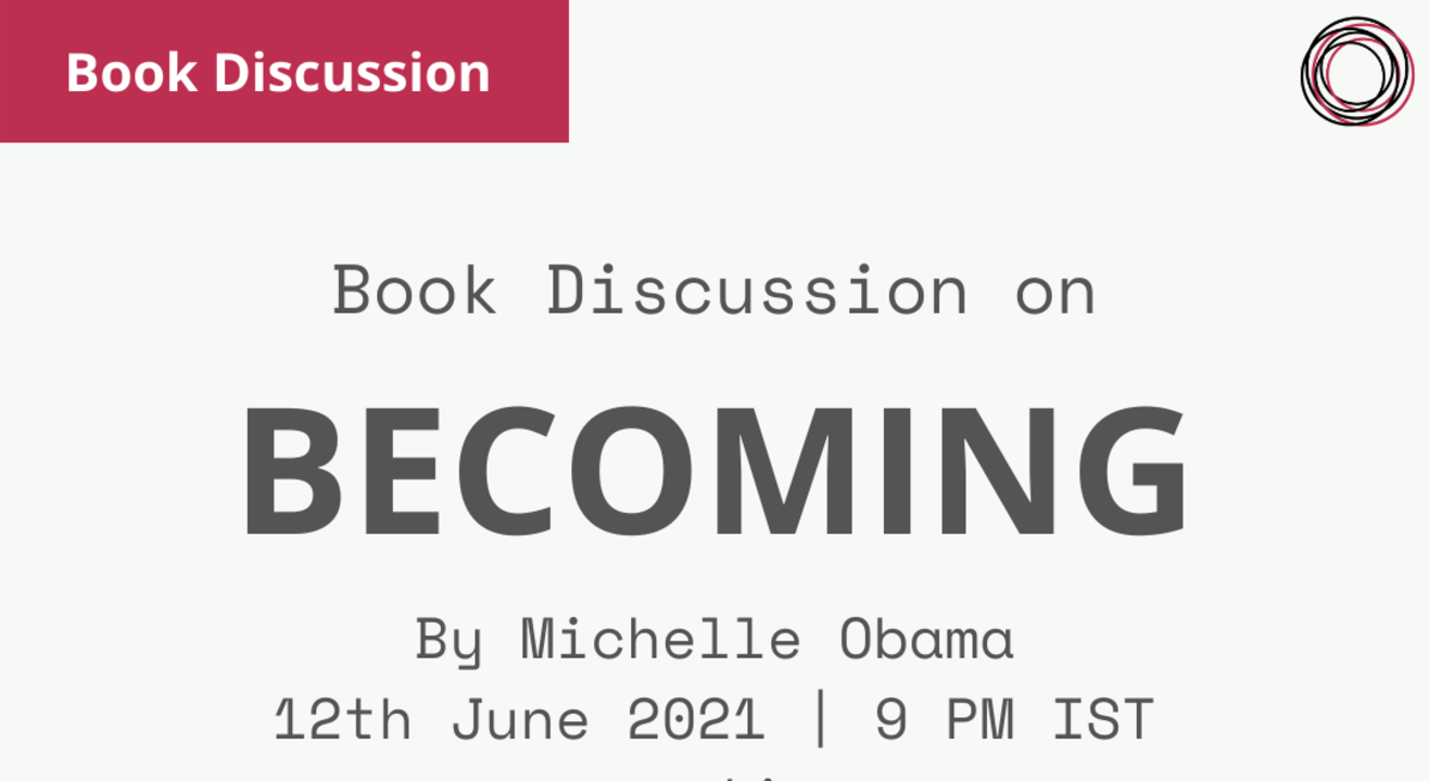 Book Discussion: Becoming by Michelle Obama