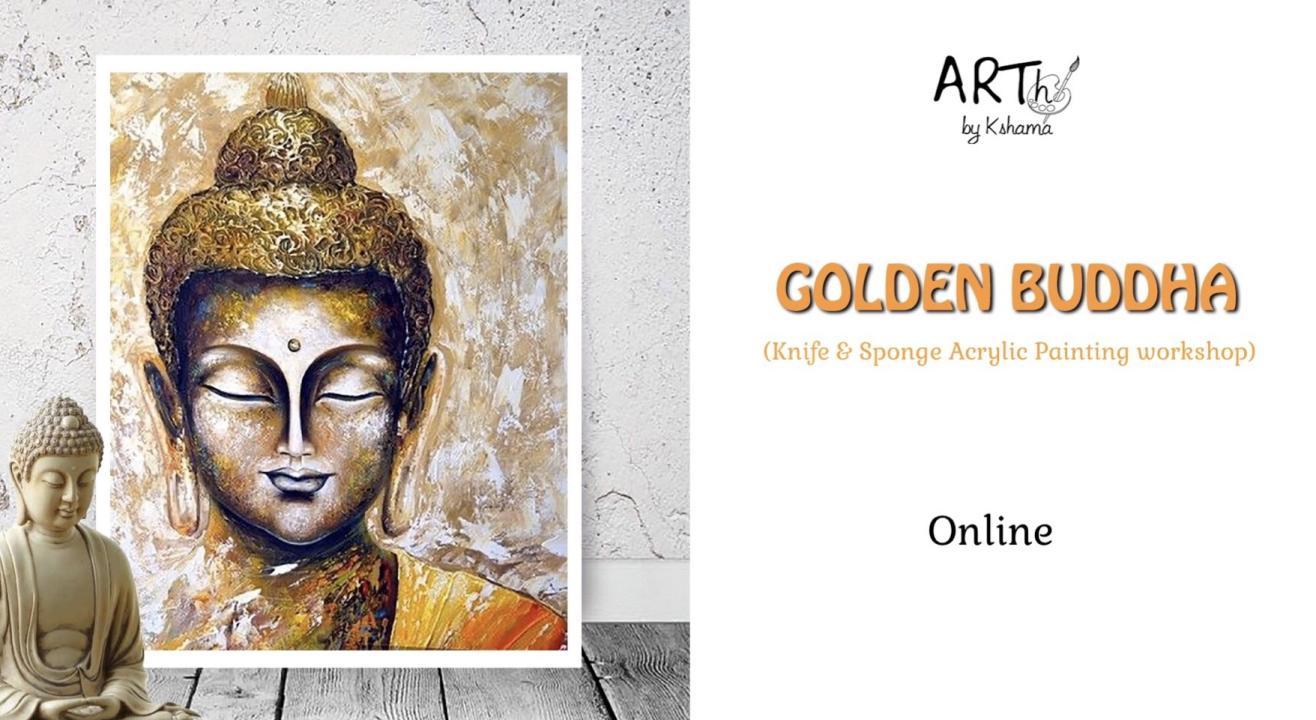 Golden Buddha- Acrylic Painting Workshop