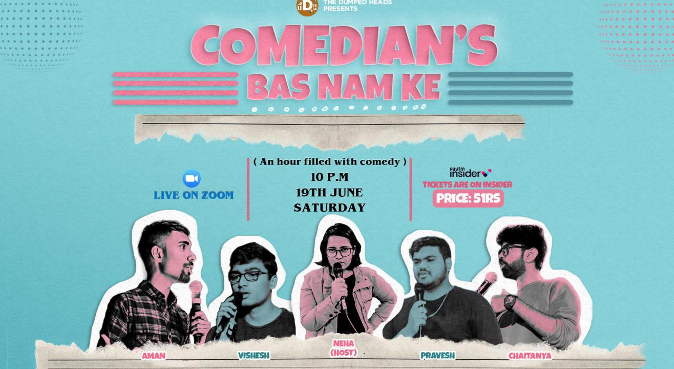 Comedian's Bas Naam Ke (Comedy Show)
