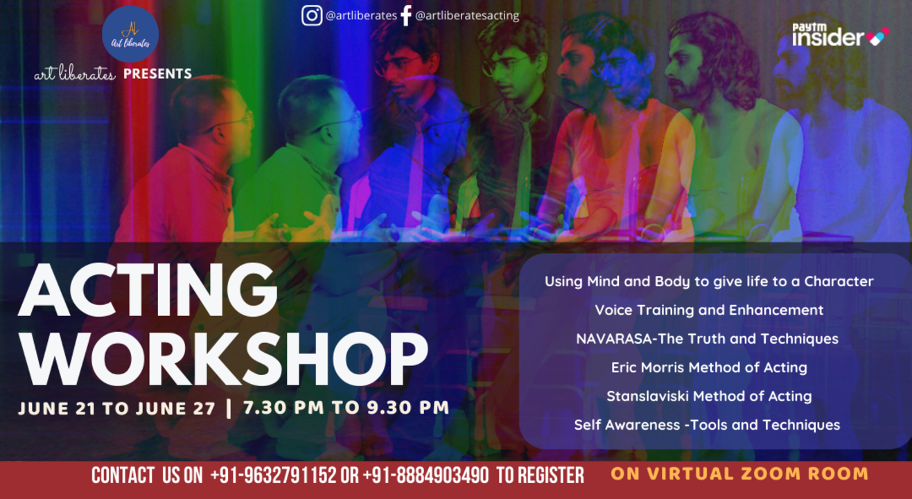 Learn Acting - Acting Workshop by ArtLiberates