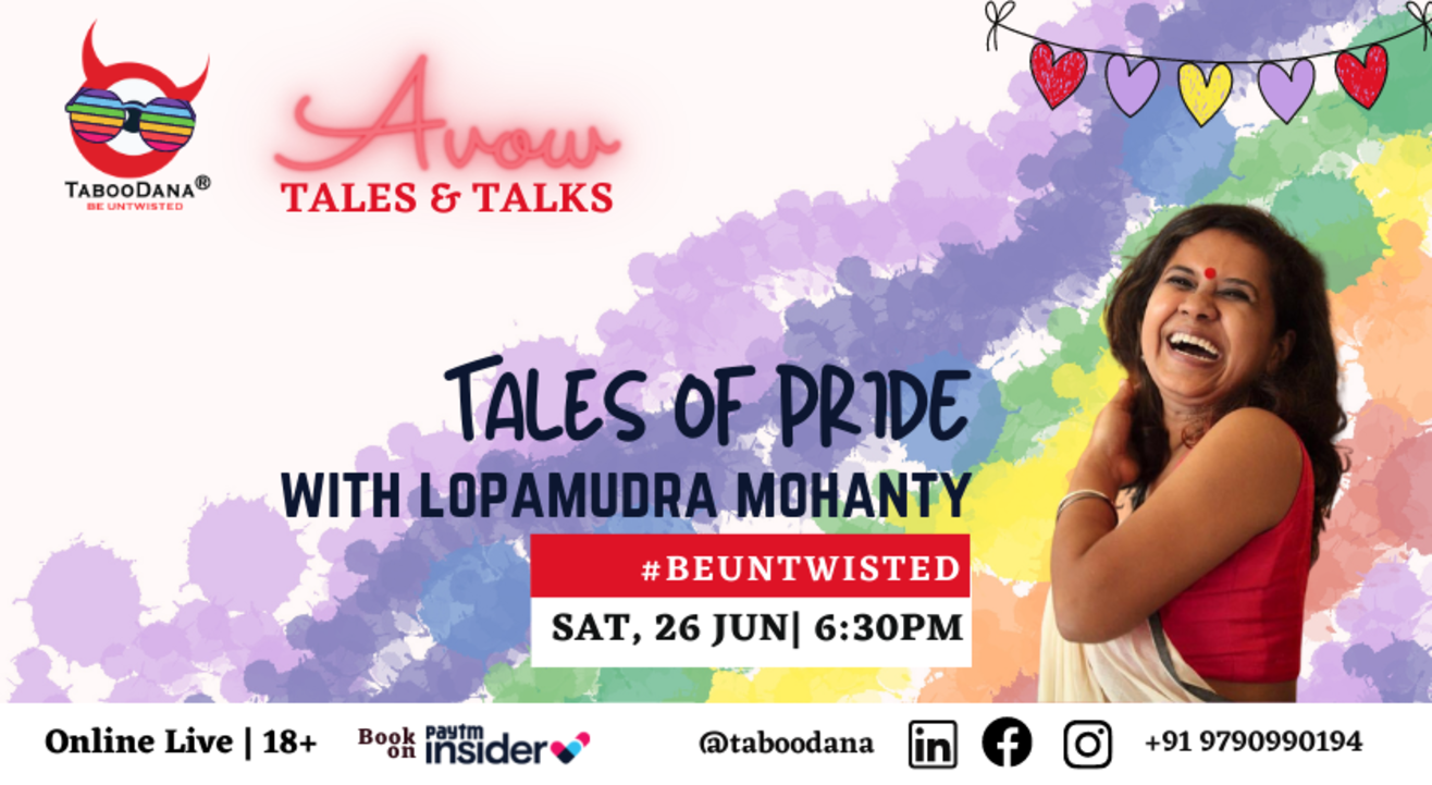 Taboodana Avow Tales and Talks   Celebrate the Pride Month
