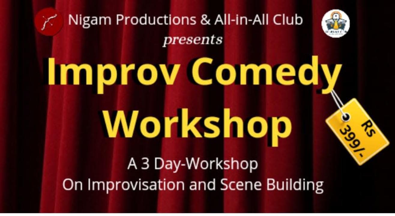 3 Day Improv Comedy Workshop
