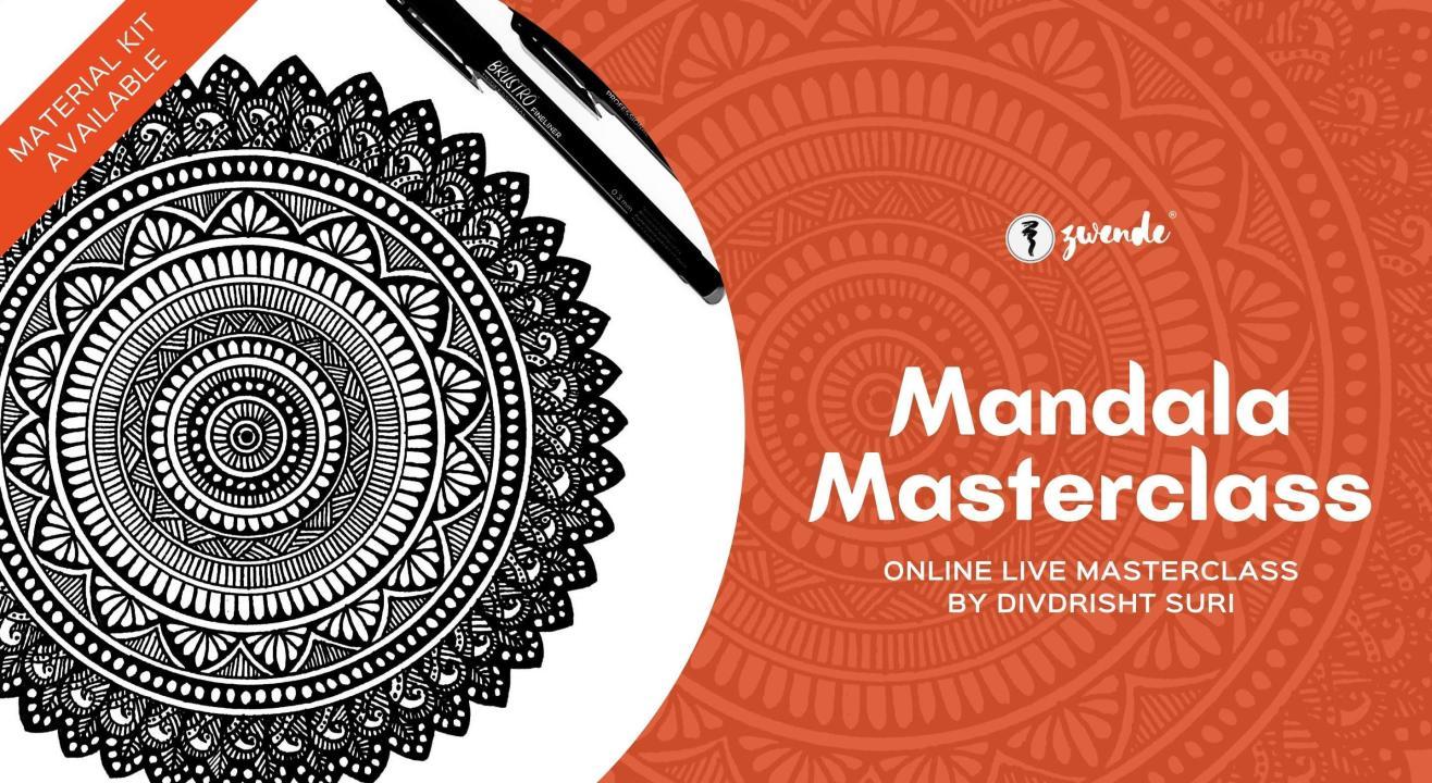 Mandala Masterclass [Online Live Masterclass - Material Kit Available]