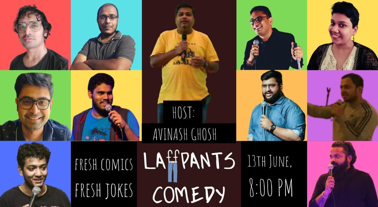 Laffpants Comedy: Open Mic