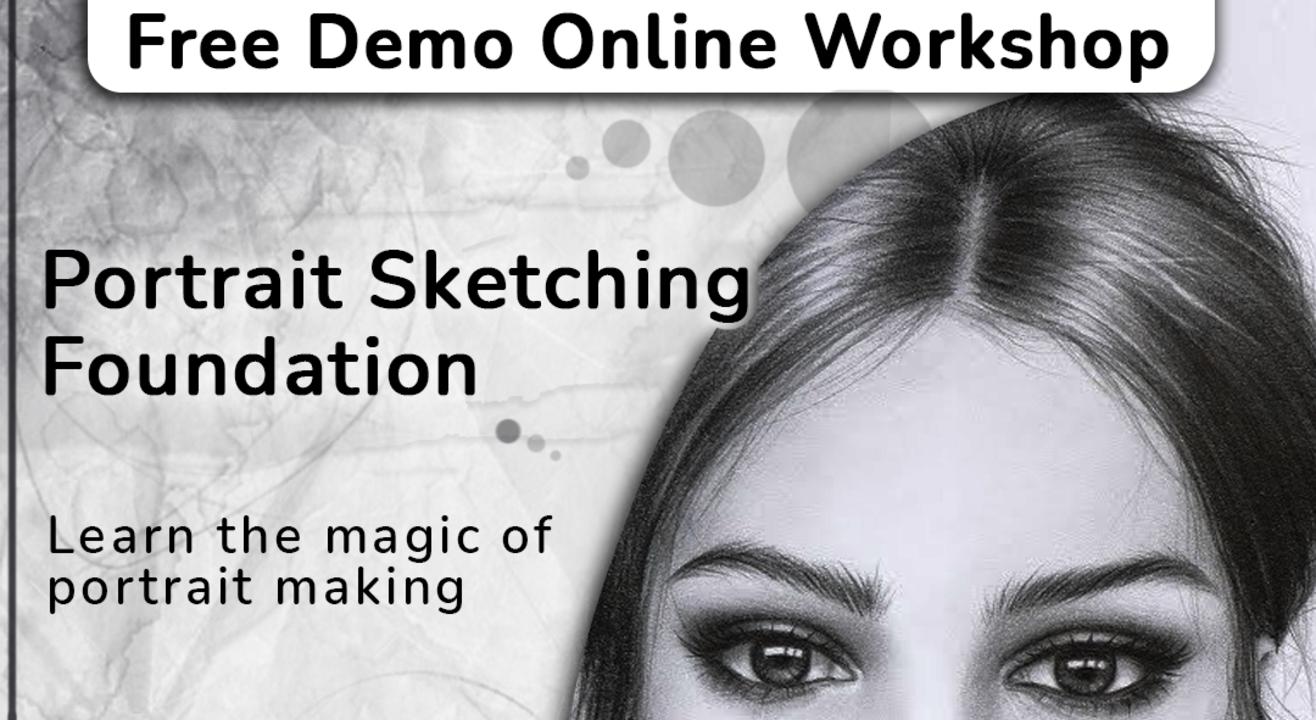 Free Demo Portrait Sketching Workshop