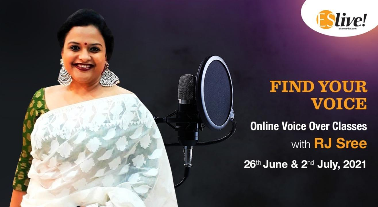 Find Your Voice with RJ Sree